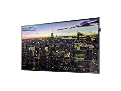 "Samsung QB65H 65"" Edge-Lit 4K UHD LED Display"