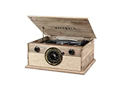 Victrola 4-in-1 Cambridge Bluetooth Turntable with FM Radio (Open Box)