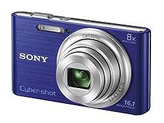 Sony 16.1MP Digital Camera w/ 8x Zoom