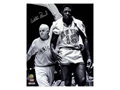 Willis Reed Walk Off Court With Trainer 16x20 Photo