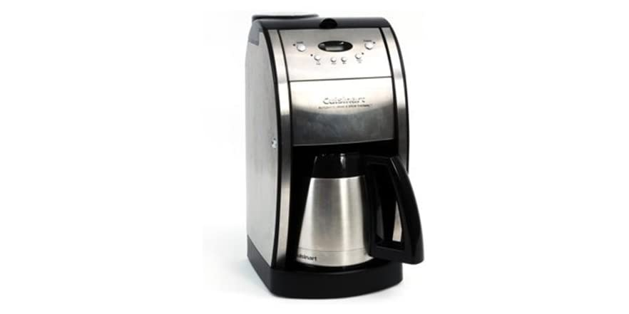 Cuisinart Coffee Maker With Grinder Not Working : Cuisinart Grind & Brew 10-Cup Coffee Maker with Gold Tone Filter