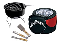 Jim Beam Cooler and Grill Set