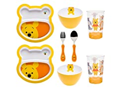 Big Face Winnie The Pooh 8-Piece Set