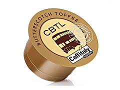 CBTL Butterscotch Toffee Coffee Capsules (16-count)