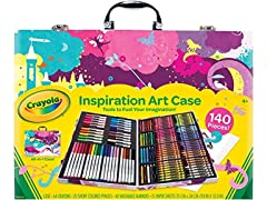 Crayola Inspiration Art Case, Portable Art Studio