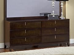 Legend Wood 6 Drawer Dresser