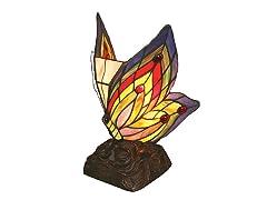 6.5-Inch Tiffany-Style Butterfly Light