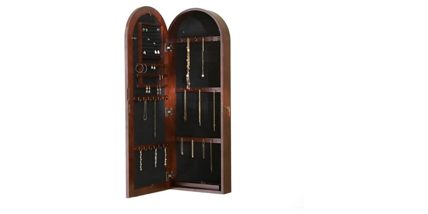 Arbor Wall Mount Jewelry Armoire