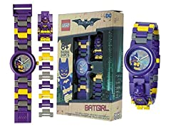 Lego Batman Batgirl Kids Buildable Watch