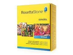 Rosetta Stone Levels 1-4: Spanish