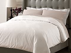 Hotel Duvet Cover Set - White - 3 Sizes
