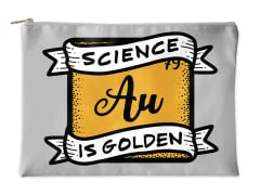 Science is Golden Accessory Pouch