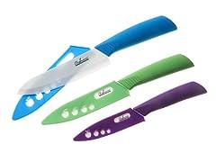 3-Pc. Ceramic Knife Set