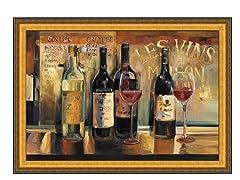 Les Vins Maison Framed 28x39