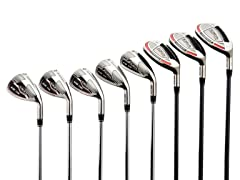 AdamsGolf Graphite Hybrid & Steel Iron Set (RH)