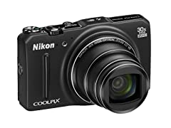 Nikon S9700 16MP Wi-Fi Digital Camera