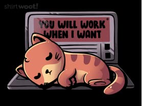 You Will Work When I Want