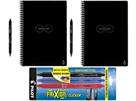 2pk Rocketbook Smart Notebooks & 5 Pens