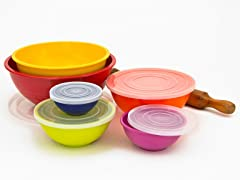 Assorted Melamine Mixing Bowl