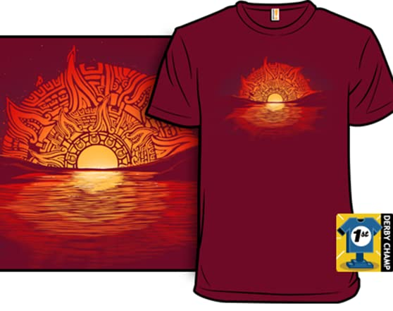Aztec Sunset Aztec Sunset Shirt.woot