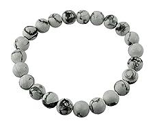 8MM Stretch Bead Bracelet- Pick Color