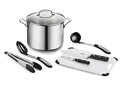 Cuisinart Chef's 10 Qt. Stockpot w/ Essential Tools