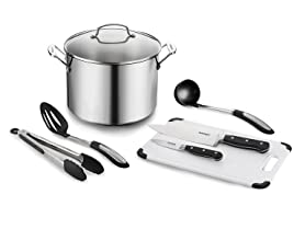 Cuisinart Chef's 10 Qt. Stockpot w/ Essential Tools