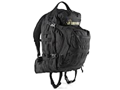 12 Survivors Tactical Backpack - Black