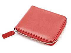 Royce RFID Blocking Zip Around Wallet