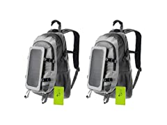 BayouTech Solar Backpack 5000 (2 Pack)