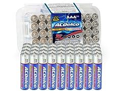 ACDelco 36pk AAA Alkaline Batteries