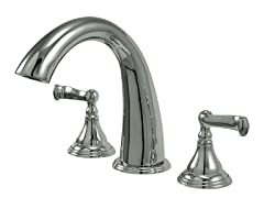 Roman Tub Filler, Chrome
