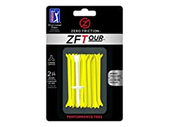 40 Pack Zero Friction 2 3/4 Yellow Tees