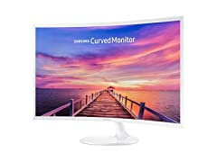 "Samsung 32"" CF391 Curved LED Monitor"