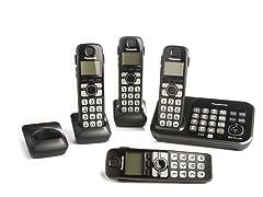 Panasonic 4-Handset DECT 6.0 Phone System