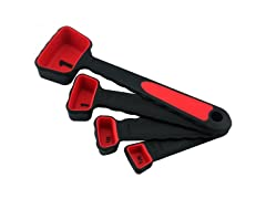 Collapsible Measuring Spoons - Set of 4