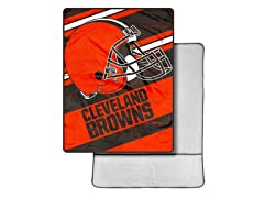 Cleveland Browns Foot Pocket Throw