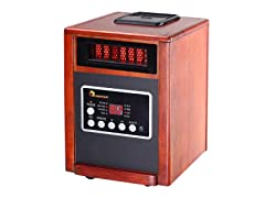 Dr Infrared Heater 1500W Dual Heater & Humidifier
