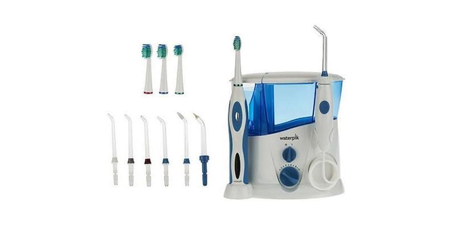 waterpik water flosser sonic toothbrush. Black Bedroom Furniture Sets. Home Design Ideas
