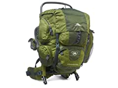 High Sierra Foxhound 50 Frame Pack, Pine