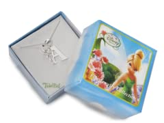 """Tinkerbell Initial Necklace - Letter """"A"""""""