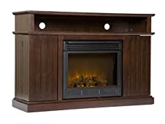 Kingsbury Media Electric Fireplace