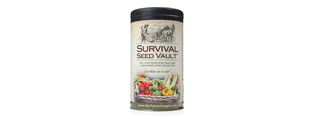 Survival Seed Vault by Patriot Seeds
