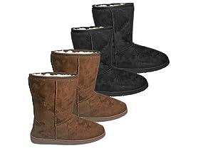 Dawgs 2 PK - Women's 9 inch  Microfiber Boots