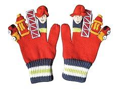 Fireman Knit Gloves (SM-LG)