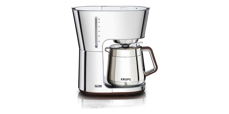 KRUPS 10-Cup Thermal Coffee Maker