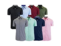 Men's Assorted S/S Dress Shirts 4Pack