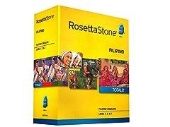 Rosetta Stone Filipino Tagalog - Levels 1-3