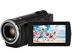 JVC Full HD Camcorder with 40x Optical