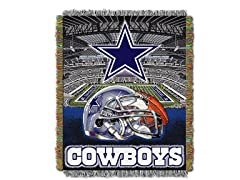 Cowboys Tapestry Throw